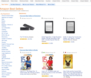 Amazon.co.uk Best Sellers The most popular items on Amazon