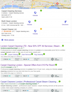 carpet cleaning london - Google Search